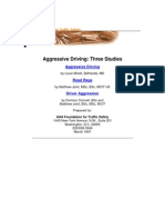 Aggressive Driving_Three Studies