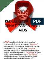 Penyuluhan HIV-AIDS Yan Bener