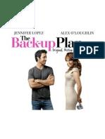 Buklet the Back-Up Plan OST