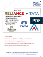 RELIANCE TATA-Special Trading Calls