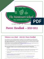 Parent Handbook - 2010-11