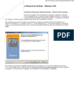 Instalación y uso de VMware P2V Assistant