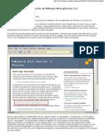 Instalar VMware VirtualCenter 2.5