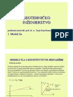 Poglavlje 1 Modeli Tla