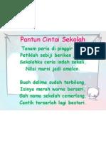 Slaid Pantun Cintai Sekolah