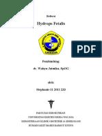Hydrops Fetalis