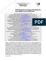 Reconfigurable SDR Equipment and Supporting Networks
