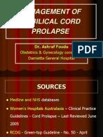 Umibilical Cord Prolapse
