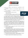 SR2104 operaciones básicas de la alarma sinrobos