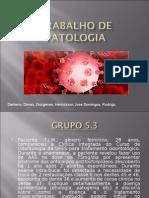 Trabalho de Patologia sAAF[1]