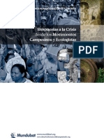 Respuestas a la crisis desde los movimientos campesinos y ecologistas