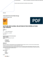 Taylor & Francis Online __ Diffuse and Global Solar Radiation Correlations for Jordan - International Journal of Solar Energy - Volume 10, Issue 3-4