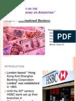 Banking on Argentina