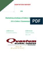 Dissertation on Dabur
