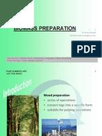 Biomass Preparation