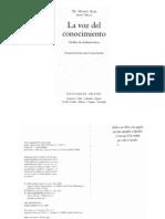 Don Miguel Ruiz-La Voz Del Conocimiento