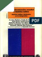 21.La Reestructuracion Mundial y America Latina,Tomo II.varios Autores-Carmona