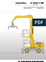 Pelle en Manutention a 924 C HD ` Litronic