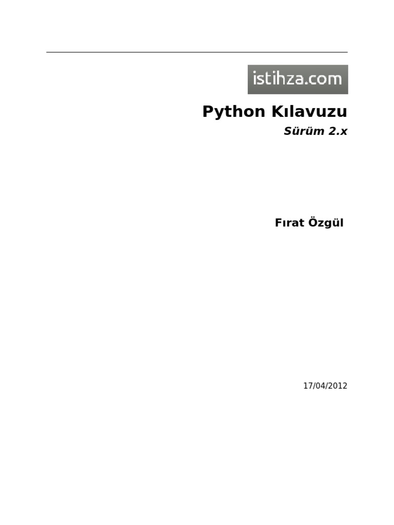 Python2x
