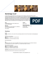 Bainbridge Scarf Pattern