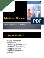 Kebutuhan Eliminasi Urin PDF