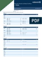 January 2013 Igcse Timetable 22-06-2012
