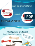 Prezentare Mixul de Marketing