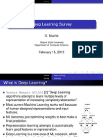General overview deep learning