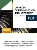 LinkedIn Communication Architecture