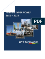 2. Plan de Inversiones 2012-2016