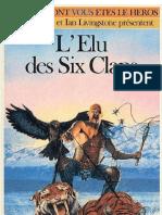 Defis Fantastiques 38 - L'Elu Des Six Clans