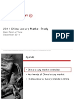 2011 Bain China Luxury Market Study