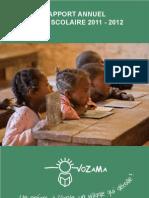 Vozama - Rapport Annuel 2011 - 2012-1