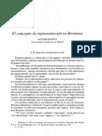 Brentano-ConceptoRepresentación
