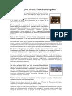 La ley proyecto que transparenta la función pública