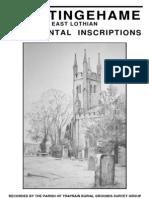 Whittingehame Churchyard Survey