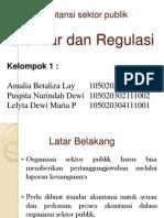 Standar Dan Regulasi Sektor Publik