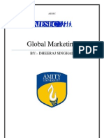 Global Marketing on Aiesec