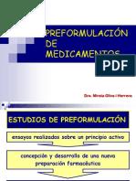 Preformulacion de Medicamentos
