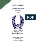 C.W. Leadbeater - Clarividencia