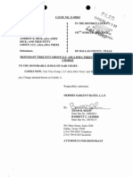 Trees Proposed Jury Charge