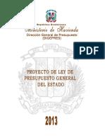 Proyecto de Presupuesto 2013 Digital