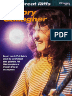 Phil Hilbornes a-Z of Great Riffs - Rory Gallagher [Guitar Technique Mag]