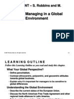 Chapter 4 - Managong in a Global Environment