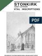 Prestonkirk Churchyard Survey