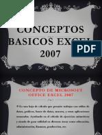 Conceptos Excel 2007
