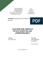 CENTRO DE INVESTIGACIONES evaluación
