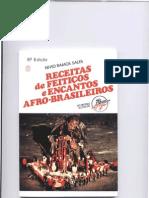 Receitas de feitiços e encantos afro-brasileiros