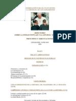 Directorio Sobre La Piedad Popular y La Liturgia-juan Pablo II