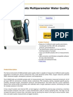 Hanna Instruments Multiparameter Water Quality Meter